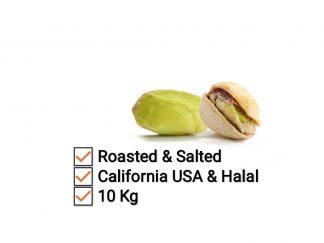 Kacang pistachio 10 Kg