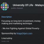 Channel Telegram Untuk Asah Bakat Usahawan Dan Pelabur Berjaya